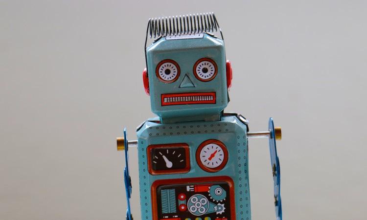 Echo Vintage Roboter