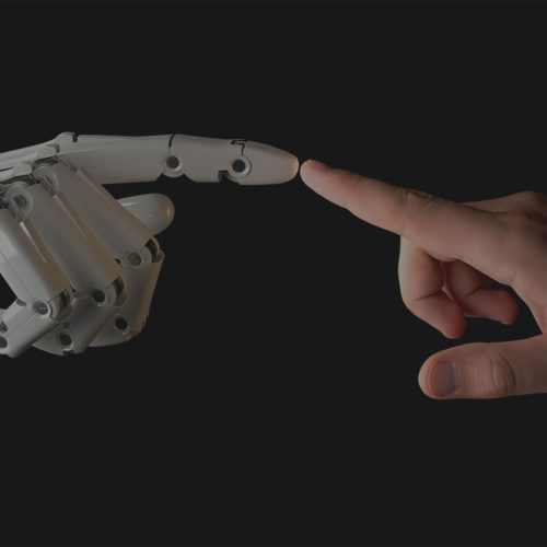 Roboter Hand