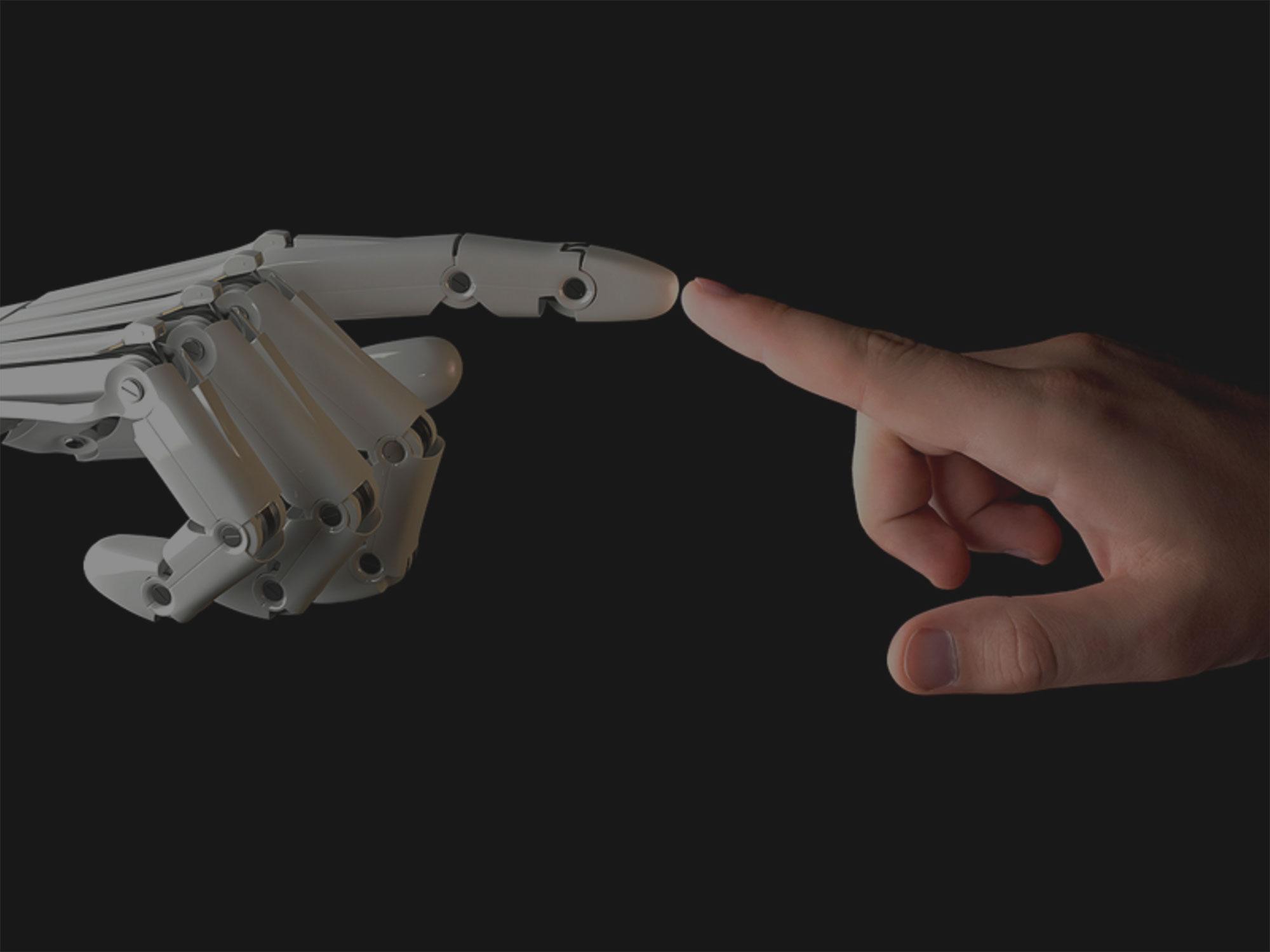 Der Roboter-Arbeitsplatz