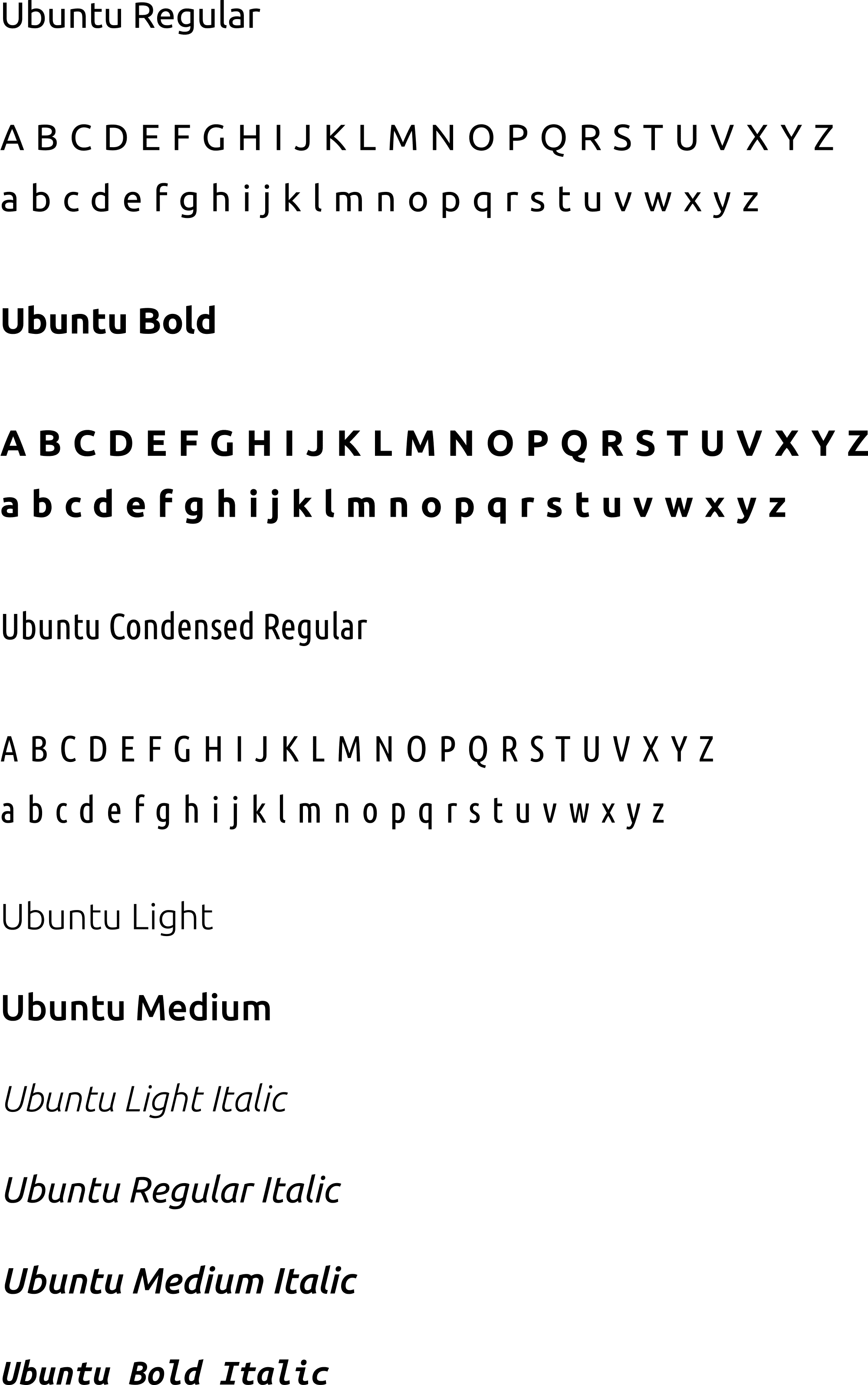 FMD – Corporate Schrift – Ubuntu