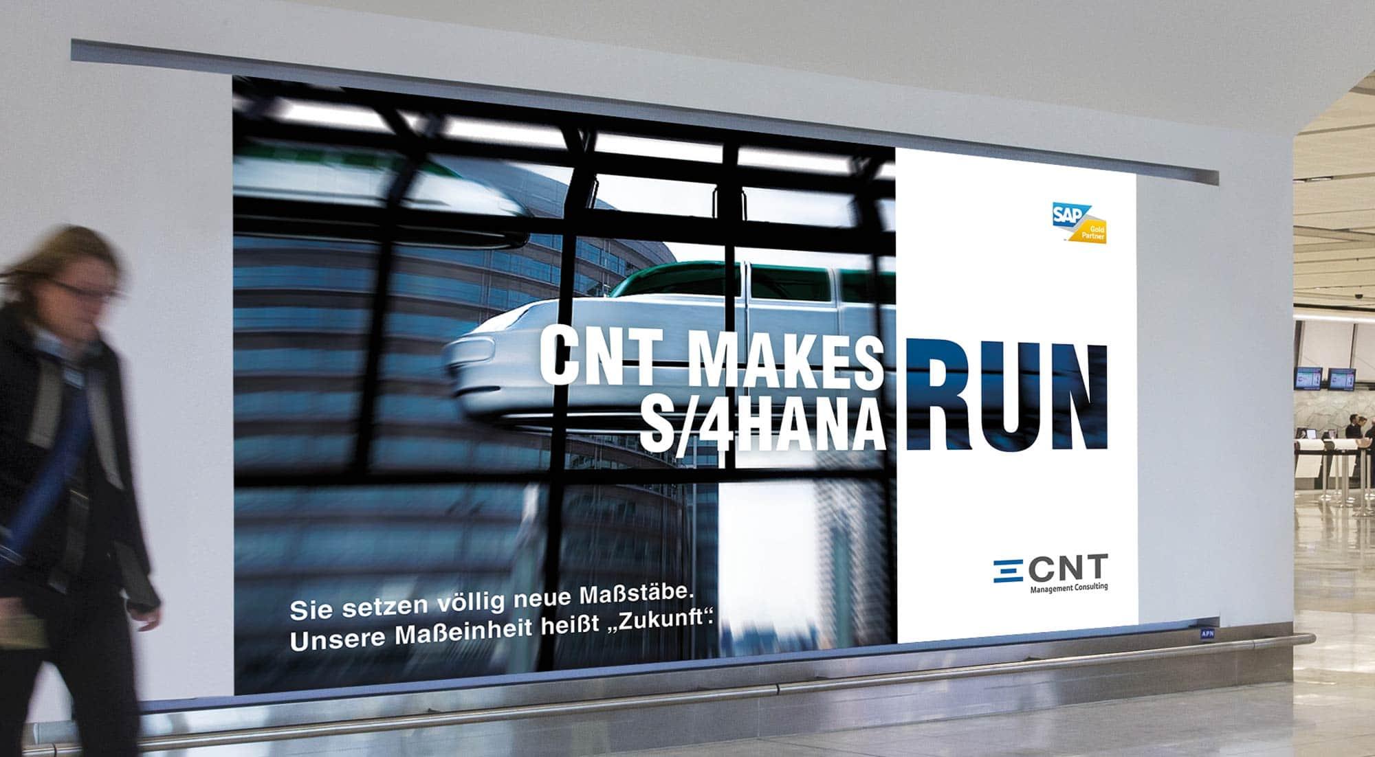 CNT – Videowall für Flughafen