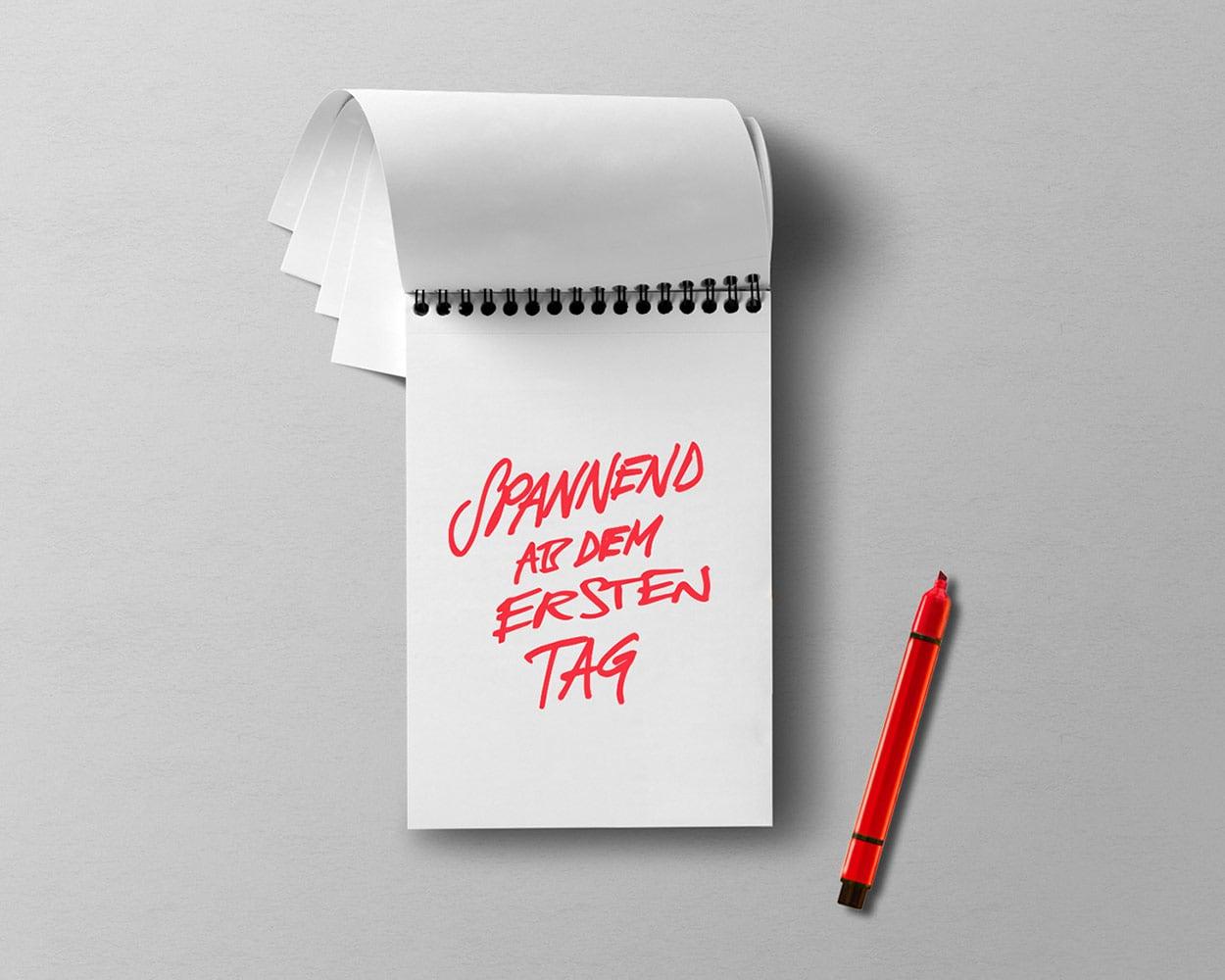 Sparkasse – Design Handschrift für Employer Branding