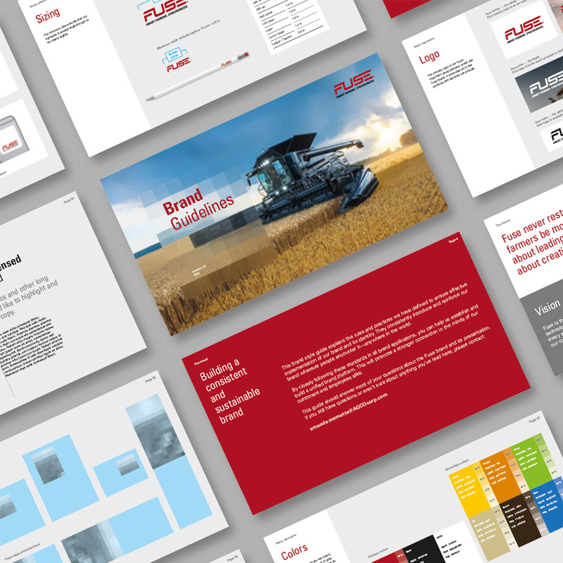 Fuse – Brandbook Design – Brand Guidelines