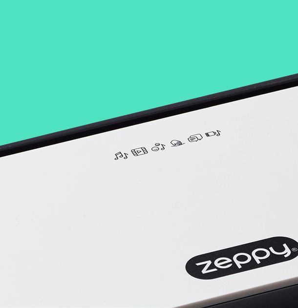 Zeppy Webshop Design