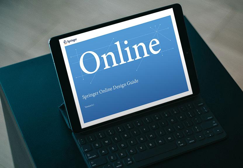 SpringerVerlag – Online Design Guide