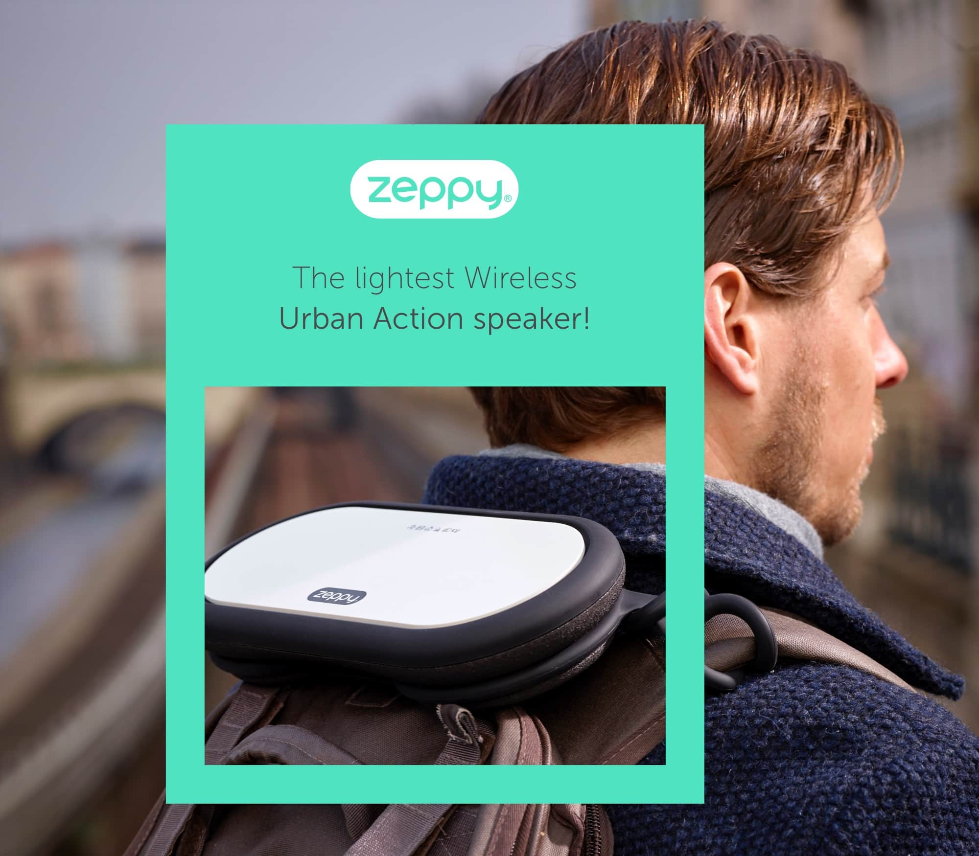 Zeppy – Sujet Design mit Soundbox