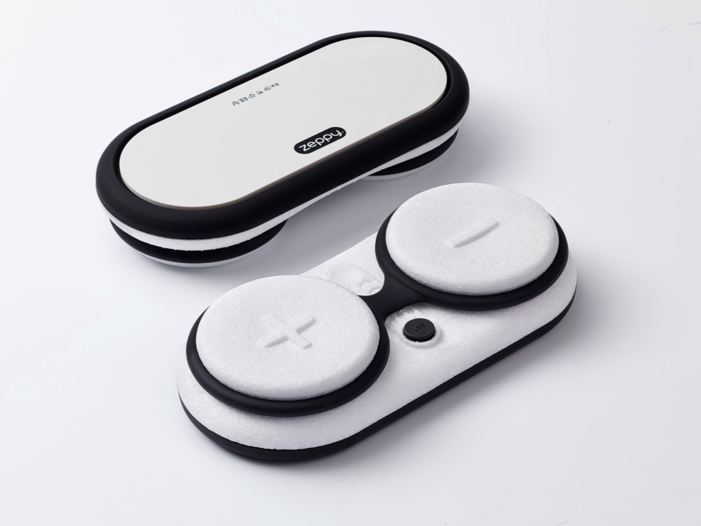 Zeppy – Produkt Image – Soundbox Weiß