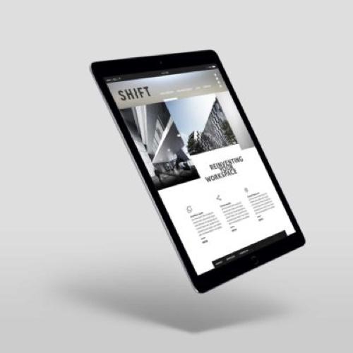 Düsseldorf Standortseite Projektfoto iPad Screenshot