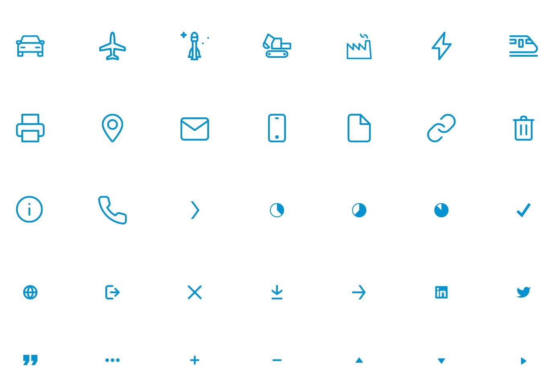 TTTech – Icon Design