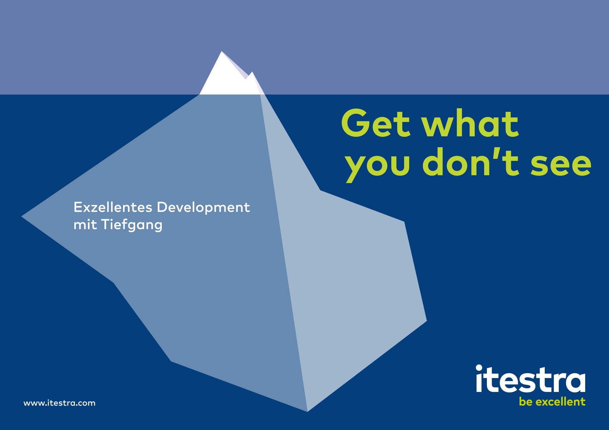 Itestra – Werbebanner Design