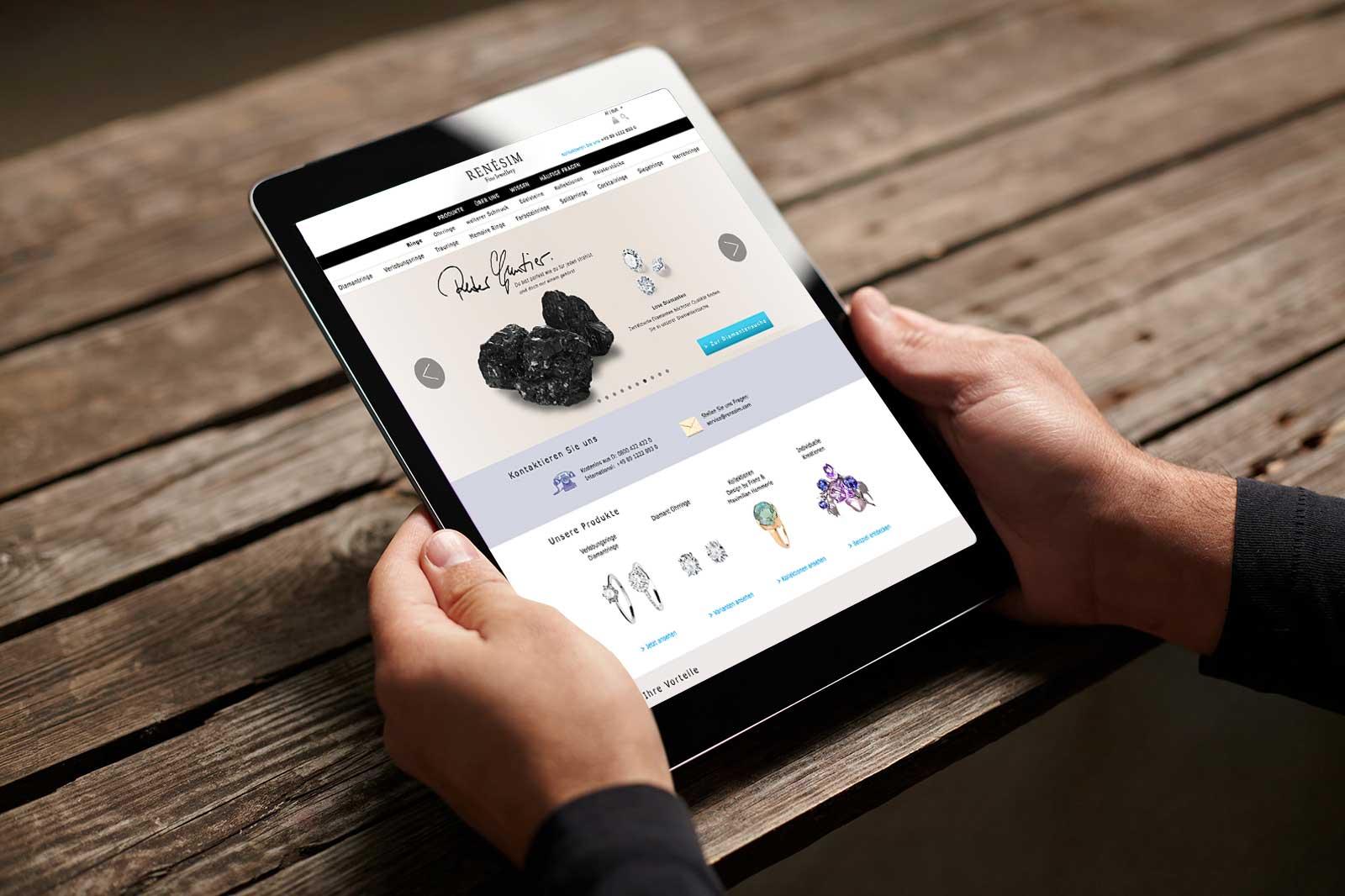 Rebranding für einen der führenden Online-Juweliere