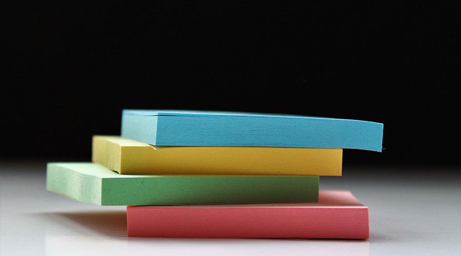 Mehr Sticky Notes – wir lieben sie und verwenden sie für jeden Workshop!